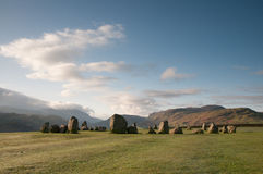Castlerigg Stone Circle Royalty Free Stock Images