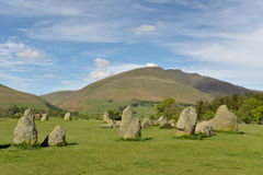 Free Castlerigg Stone Circle And Blencathra Stock Photography - 98344492