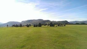 Castlerigg stone circle Stock Photography