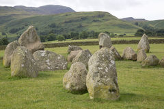 Castlerigg Stone Circle, Keswick; Lake District Royalty Free Stock Photography