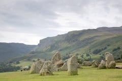 Castlerigg Stone Circle, Keswick; Lake District Stock Image