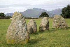 Castlerigg Stone Circle, Keswick; Lake District; England Stock Photos