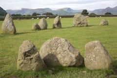 Castlerigg Stone Circle, Keswick; Lake District Stock Photos