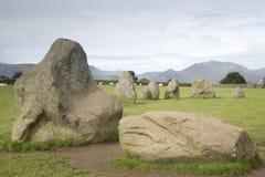 Castlerigg Stone Circle, Keswick; Lake District Royalty Free Stock Image
