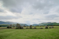 Castlerigg Stone Circle royalty free stock images