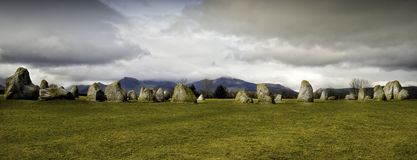 Castlerigg Stone Circle, Lake District, England Royalty Free Stock Images