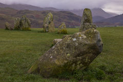 Castlerigg Stone Circle in the Lake District Royalty Free Stock Images