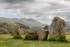 Castlerigg Stone Circle near Keswick Royalty Free Stock Images