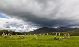 Castlerigg Stone Circle, near Keswick, Cumbria, England. Stock Images