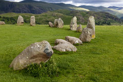 Castlerigg Stone Circle, near Keswick, Cumbria, England. Stock Photo