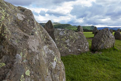 Castlerigg Stone Circle, near Keswick, Cumbria, England. Royalty Free Stock Images