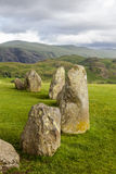 Castlerigg Stone Circle, near Keswick, Cumbria, England. Stock Photos