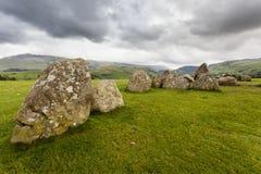 Castlerigg Stone Circle, near Keswick, Cumbria, England. Royalty Free Stock Image