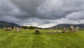 Castlerigg Stone Circle, near Keswick, Cumbria, England. Stock Image