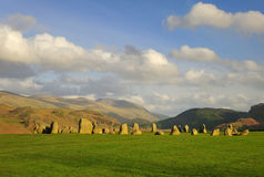 Castlerigg stone circle, summer Stock Photos
