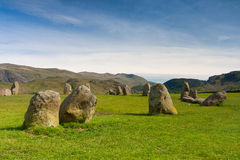 Castlerigg Stones Circle in Keswick Stock Photos