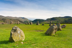 Castlerigg Stones Circle in Keswick Stock Images