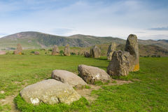 Castlerigg Stones Circle in Keswick Royalty Free Stock Images