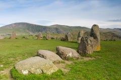 Castlerigg Stones Circle in Keswick Royalty Free Stock Images
