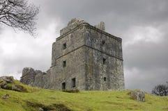 Castleruins i Skottland Arkivbild