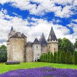 Castles of France, Dordogne region Royalty Free Stock Images