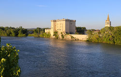 Castles of France, Provence: Tarascon Castle royalty free stock photo