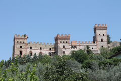 Castles in Italy Royalty Free Stock Photos