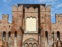 Castles of Italy - The medieval Castle of Soncino - Cremona - It. Castles of Italy - View of the medieval castle of Soncino in the province of Cremona - Italy 61 royalty free stock photos
