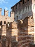 Castles of Italy - The medieval Castle of Soncino - Cremona - It. Castles of Italy - View of the medieval castle of Soncino in the province of Cremona - Italy 63 royalty free stock photography