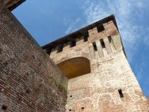 Castles of Italy - The medieval Castle of Soncino - Cremona - It. Castles of Italy - View of the medieval castle of Soncino in the province of Cremona - Italy 73 royalty free stock photography