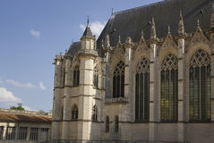 Castles of Loire in France. Royalty Free Stock Photos