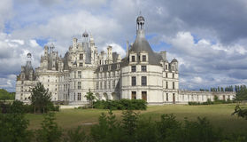 Castles of Loire in France. Stock Image