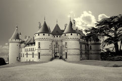 Castles of Loire valley Stock Photos