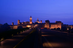 Castles of mantova in italy Royalty Free Stock Images