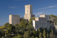 Castles Of Erice Stock Image