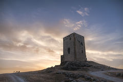 Castles in the province of Mlaga, Teba Royalty Free Stock Photo