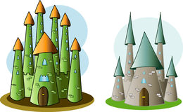 Castles of storybook Stock Photography