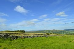 Castleton countryside in Derbyshire royalty free stock photography