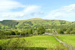 Castleton countryside in Derbyshire royalty free stock photos