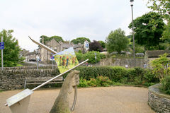 Castleton, Derbyshire. Royalty Free Stock Photo