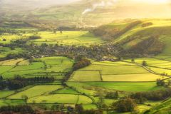 Castleton Peak district UK Stock Images