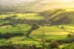 Castleton szczytu okręg UK obrazy stock