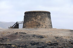 CastleTorre del El Toston, Fuerteventura Royalty Free Stock Photo