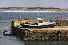 Castletown Harbour - Scotland - UK Stock Photography