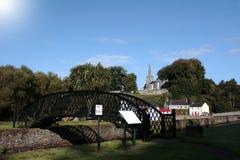 Castletownroche steel bridge scene Stock Photography