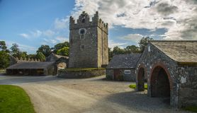 Castleward location of Winterfell for Game of Thrones tv series. Castleward, Strangford, Co.down, North ireland, UK, 17th of August 2017, A National Trust Royalty Free Stock Photography