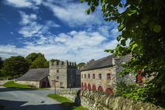 Castleward location of Winterfell for Game of Thrones tv series. Castleward, Strangford, Co.down, North ireland, UK, 17th of August 2017, A National Trust Stock Photo