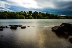 Castlewellan湖 免版税库存图片