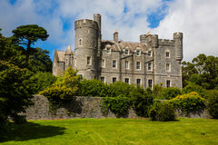 Castlewellan Castle. The Castlewellan village and the historical castle in County Down, Northern Ireland royalty free stock photography