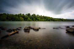 Castlewellan sjö Royaltyfri Foto